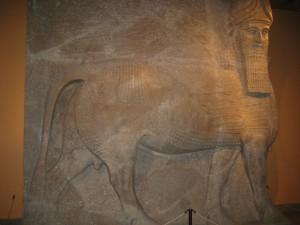 Winged Bull--Sargon II