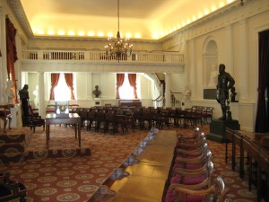 Old House Chamber, Richmond, VA  renovated.  c. 2009